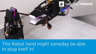 Robot Hand Could One Day Tie Your Shoes