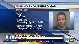 Cape Coral Police searching for missing man