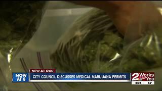 Tulsa City Council discusses medical marijuana permits