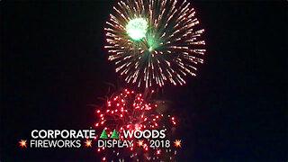 Corporate Woods Fireworks Display 2018