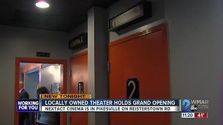 Locally owned theater holds grand opening
