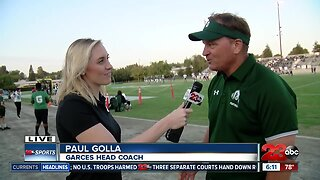 Live interview with Paul Golla ahead of BHS vs. Garces