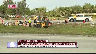 Turnpike reopens after crash