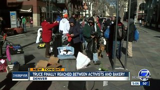 Deal reached between Occupy Denver and Corner Bakery over protests