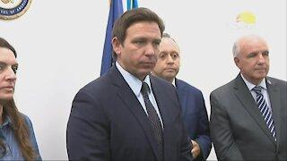 Gov. DeSantis talks anti-riot bill