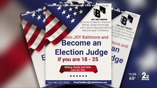 Young people could help Maryland meet the need for election judges
