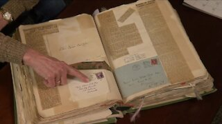 After 11 month search for family members, lost scrapbook returned to family
