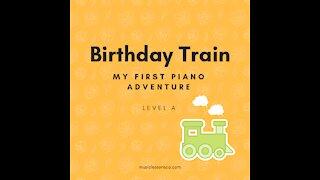 Piano Adventures Lesson Book A - Birthday Train