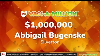 Silverton woman wins Ohio's first Vax-a-Million drawing