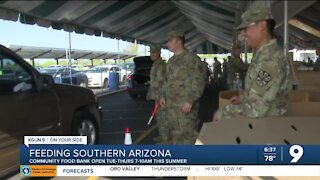 Community Food Bank of Southern AZ seeing fewer people in need this Summer