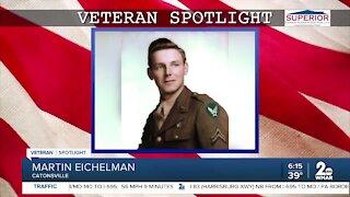 Veteran Spotlight: Martin Eichelman of Catonsville