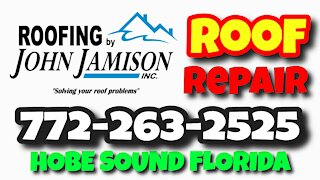 Local Roof Repair Martin County Florida   Roofing By John Jamison