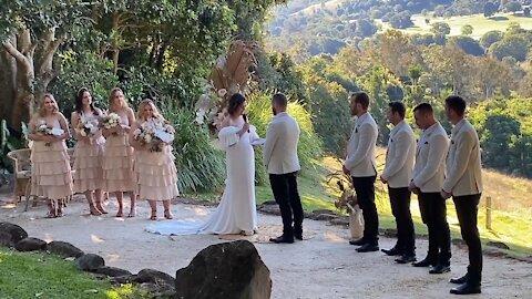 Sarah and Matt Carson's Wedding at Byron Bay 13 June 2021