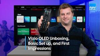 Vizio OLED Unboxing | OLED for under $1K