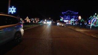 Fairview Park neighborhood lights up to spread Christmas cheer