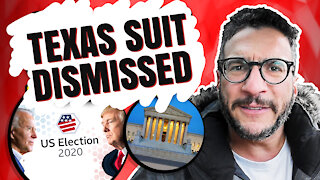 Why the Texas Lawsuit Was DISMISSED!