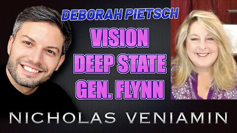 Deborah Pietsch Discusses Vision, Deep State and Gen. Flynn with Nicholas Veniamin