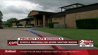 Schools preparing for severe weather season