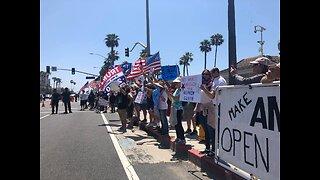 Huntington Beach Protests