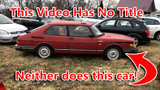 This Video Has No Title, Like This Car