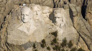 Social Distancing Not Required When Trump Visits Mount Rushmore
