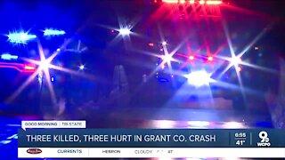 KSP investigating crash that killed 3 in Grant County