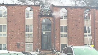 27 families displaced after three alarm fire at apartment complex in Windsor Mill