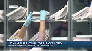 Benson outlines what Michigan voters need to know to get ballots in on time