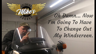 How to Change A Goldwing Windscreen