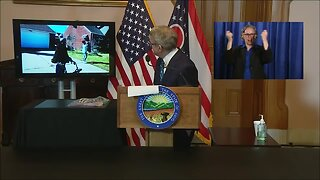 Gov. Mike DeWine shares social distancing celebration of Cleveland woman's 100th birthday