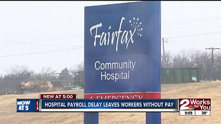 Hospital payroll delay leaves workers without pay
