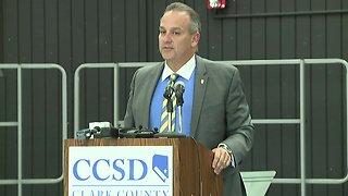 CCSD Supt. Jesus Jara talks about threats