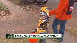 Saving money on Halloween candy