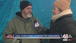 Local church raises awareness for homelessness