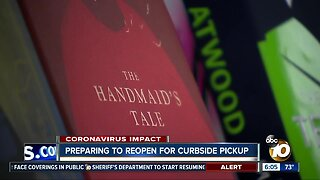 Some San Diego businesses prepare to reopen for curbside pickup