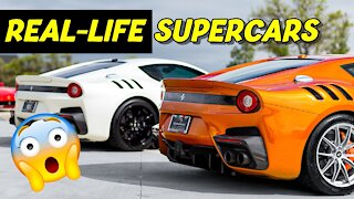 FAST AND FURIOUS REAL-LIFE SUPERCARS