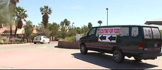 'Scouting for Food' drive in Las Vegas