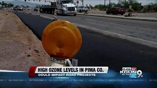High summer ozone levels could impact local transportation projects