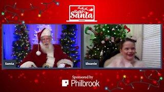 Talk 2 Santa: Sloanie