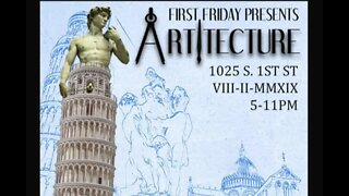 Artitecture is theme of First Friday