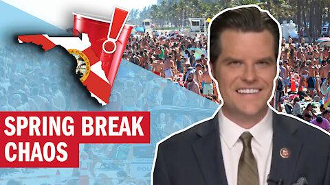 Spring Break Chaos: Enjoy Florida's Freedom Peacefully!