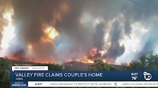 Valley Fire claims couple's home