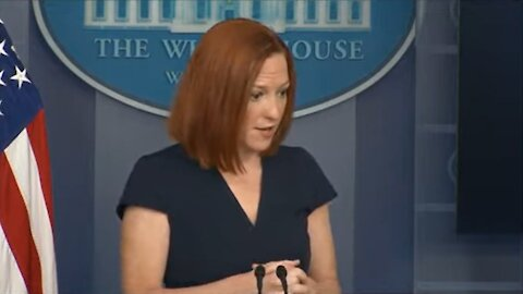 Psaki Gives MEANINGLESS Answers When Asked About Biden's Stance on MLB