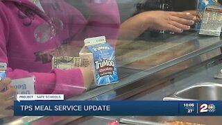 Tulsa Public Schools meal service update