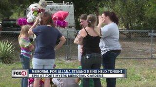 Family of Allana Staiano invites SWFL community to memorial