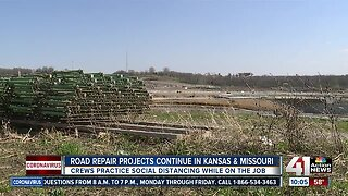 Road repair projects continue in Kansas, Missouri