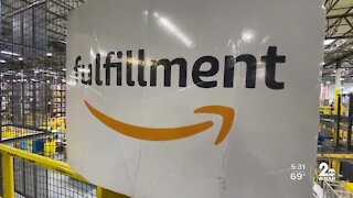 Amazon fulfillment center in Baltimore working to keep people safe during COVID