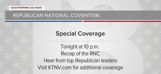 Tonight's Republican National Convention coverag