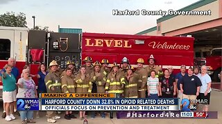 Harford County praises recovery programs for opioid deaths down