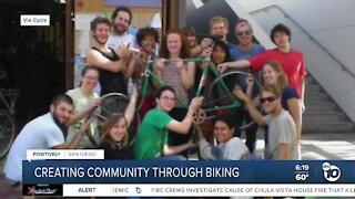 Creating community through biking